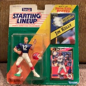 Jim Kelly Starting lineup figure